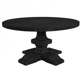Paris-round-diningtable-black