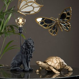 tablelamp-lion-black