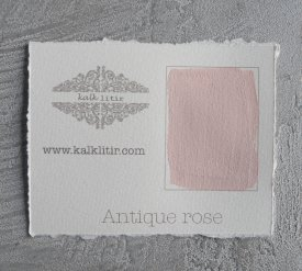Färgprov Antique Rose - Kalklitir