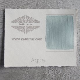 Color sample Aqua - Kalklitir