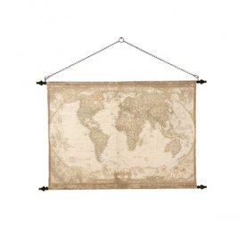 Globetotter World map, 135x85 cm - Affari