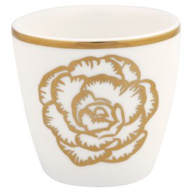 Blossom gold Egg cup, small - Gate Noir