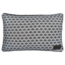 Cushion cover Elvina grey - Gate Noir