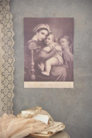 Poster Madonna with child, 29,5x42 cm - Jeanne d'Arc Living