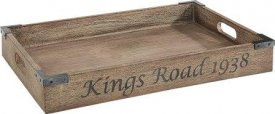 Kings road Tray Vintage Java Oak - Artwood
