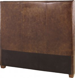 Viscount Headboard 90cm, Vintage leather cigar - Artwood