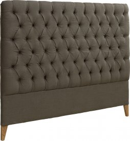London Headboard Linen Brown - Artwood