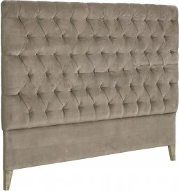 London Headboard Velvet Brown - Artwood