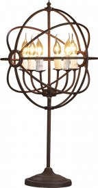 Bordslampa Gyro, Antique Rust - Artwood
