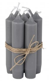 Candle bedeljus, Dark grey - Ib Laursen