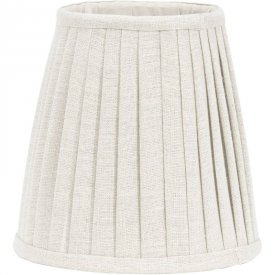 Cia Pleated Shade topring, offwhite - Pr Home