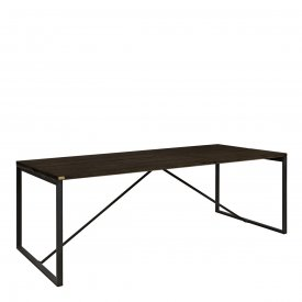Bennie dining table 220 cm, carbon - Artwood