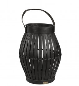 Birdcage lantern, black - Artwood