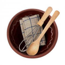 Utensils and mixing bowl - Maileg