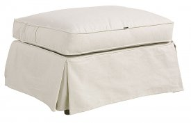 Cambridge ottoman, linen sand - Artwood
