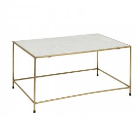 Coffetable Timeless brass/marble - Nordal