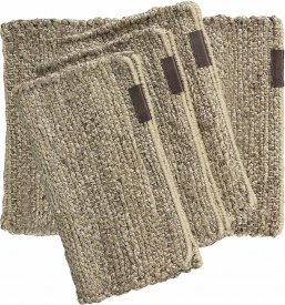 Bordstablett Hemp 4-pack, nature - Artwood