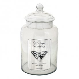 Glasburk Butterfly warm grey, large - GreenGate