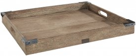 Kings road Tray, square, Vintage Java oak - Artwood