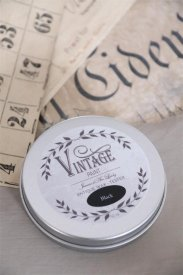 Vintage wax, Black, 50 ml - Jeanne d'Arc Living