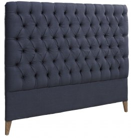 London Headboard Linen Indigo - Artwood