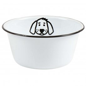 Bowl for dog, enamel - Ib Laursen
