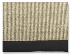 Matta, Sisal black - Artwood