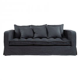 Greenwich Sofa 2,5-s Linen Indigo - Artwood