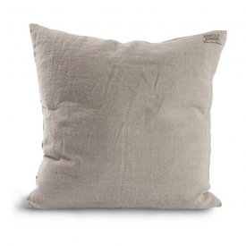 Cushion cover Lovely Linen, 47x47 cm, Natural beige - Kardelen