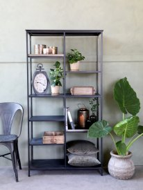bookcase-with-trays-antique-black-chic-antique