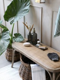 french-bench-rattan-seat