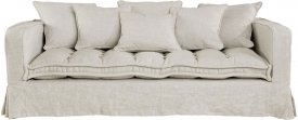 Greeenwich Sofa 3-s Linen Sand - Artwood