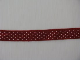 Ribbon dot, red