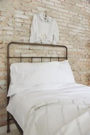Iron bed 90cm- Dark antique - Jeanne d'Arc Living