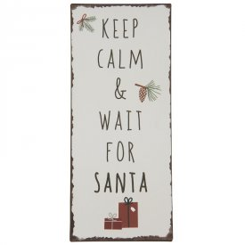 metal-sign-keep-calm-&-wait-for-santa