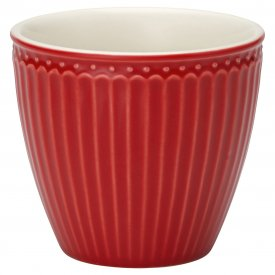 Latte cup Alice red - GreenGate