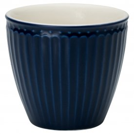 Lattemugg Alice dark blue - GreenGate