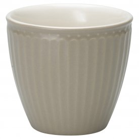 Latte cup Alice warm grey - GreenGate