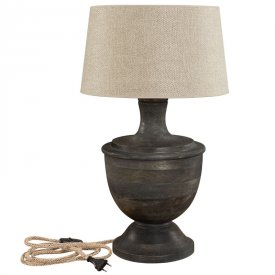 Capri Tablelamp grey - Artwood