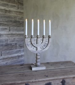norberg-advent-candlestick-grayish-brown