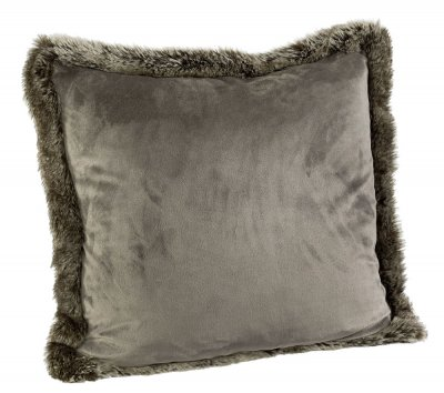 Pillowcase Grey Bear Velboa, 60x60 cm - Artwood