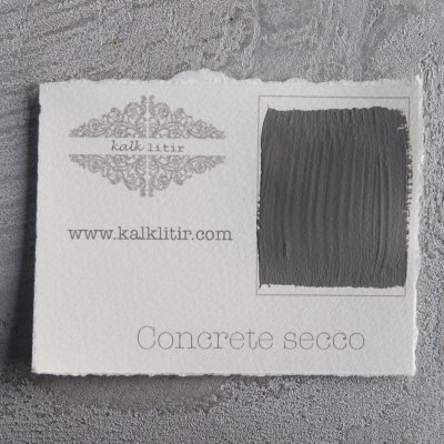 Color sample Concrete Secco - Kalklitir