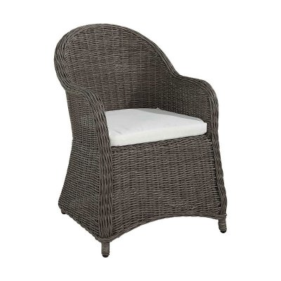 Armchair Orlando incl. cushion nature, vintage - Artwood