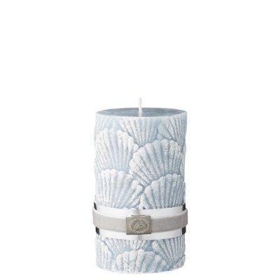 Shell Candle, sterling blue - Lene Bjerre