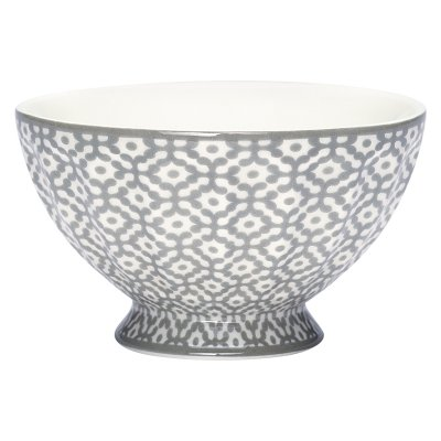 French bowl Jasmina grey, medium - GreenGate