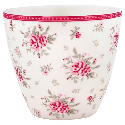 Latte cup Flora white - GreenGate