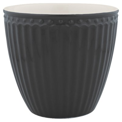 Lattemugg Alice dark grey - GreenGate