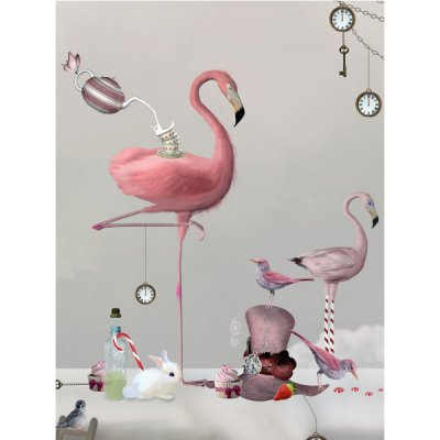 Kids poster Flamingo, 30x40 cm - By On