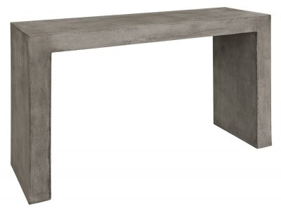 Konsollbord U-console, Concrete grey - Artwood