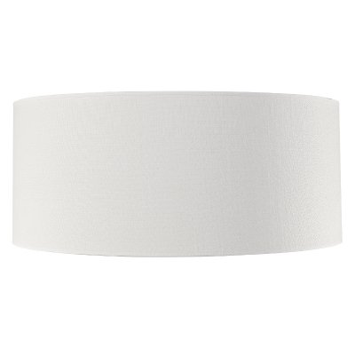 Shade Cylinder, Large, White Linen - Artwood